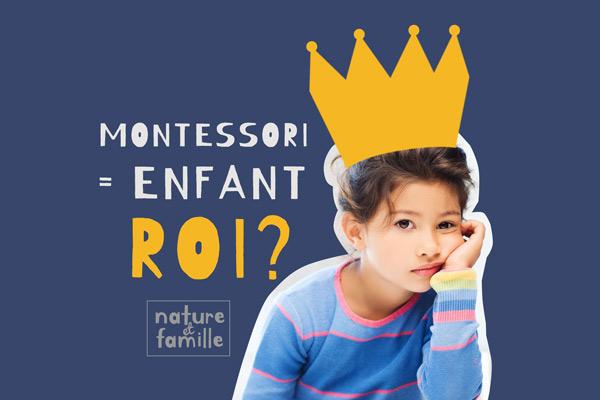Education Montessori Enfant Roi