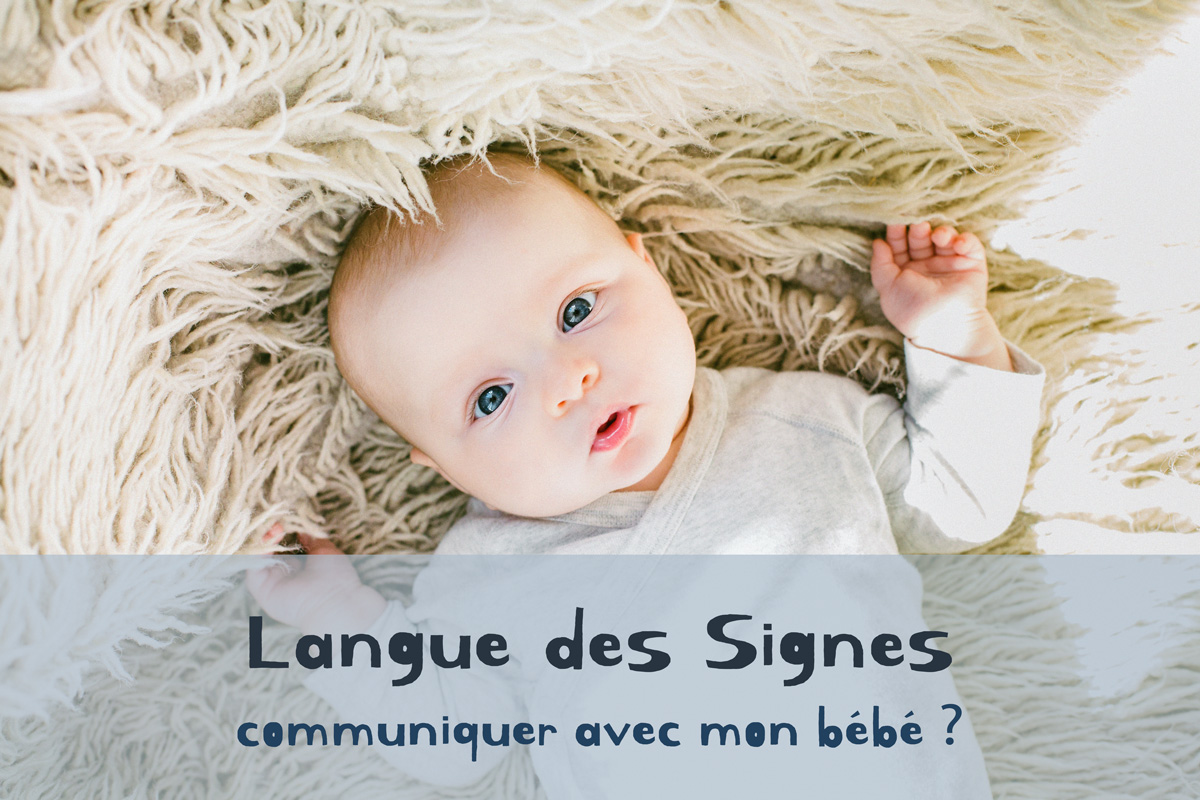 Langue des signes avec bebe